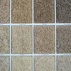 textured carpet samples